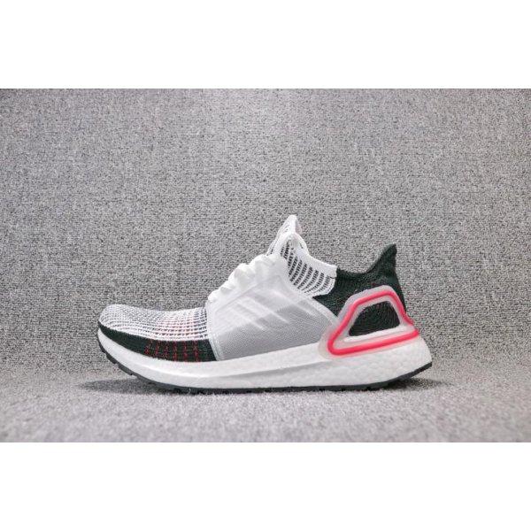 Adidas Ultra Boost 19 White Black Grey B37703